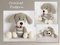 Amigurumi Pattern Crochet Dog crochet Pattern par LovelyBabyGift, $5.00