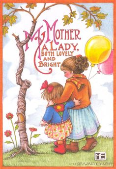 A lady both lovely and bright / Mary Engelbreit