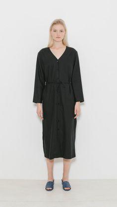 5af527cbb8fd Ozma Mal Pais Dress in Black