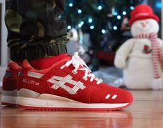 "Asics Gel Lyte 3 Christmas ""Santa Claus"" - 2013"