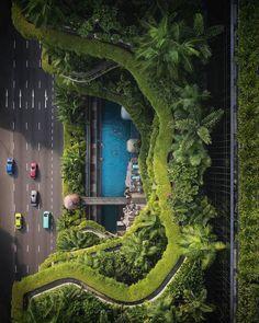 Singapore Architecture, Green Architecture, Landscape Architecture, Architecture Design, Building Architecture, Sustainable Architecture, Green Building, Travel Photographer, Ciel