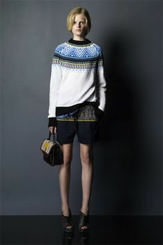 modern yoke from Proenza Schouler