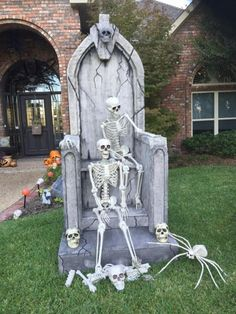 Halloween throne by HF member Timpbike