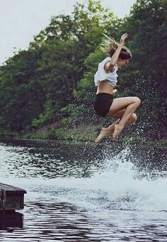LET'S JUMP IN A LAKE!
