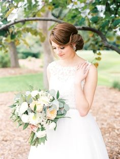 wedding hairstyle; photo: Ryan Price Photography