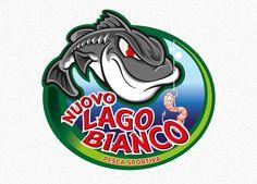 Studio e realizzazione del logo per l'attività di pesca sportiva Nuovo Lago Bianco e realizzazione della patch ricamata a laser per ottenere una qualità e precisione nei dettagli non raggiungibile con la tecnica tradizionale di ricamo.