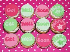Get Well Soon - Beach House Bakery, cakes and cupcakes in Bristol and the West Country