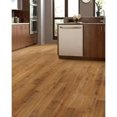 TrafficMASTER Hand Scraped Santa Clara Oak 8 Mm Thick X 9 1 4 In Wide 47 7 Length Laminate Flooring 2460 Sq Ft Case HL1051 At The Home Depot