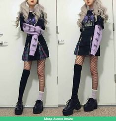 Goth Style 407012885074531510 - This is who I always wanted to be during my cringey emo phase in middle school. 🌚 My fondness for MySpace fashion never really disappeared so I guess today I can be your emo gf. 💋🖤 Source by colinelegrand Fashion 90s, Pastel Goth Fashion, Harajuku Fashion, Kawaii Fashion, Cute Fashion, Fashion Looks, Fashion Outfits, Lolita Fashion, Pastel Goth Style
