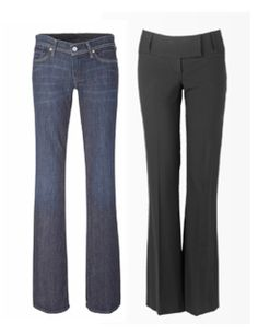 Best Jeans for Pear Shape | The Austrian Rose: Body Shape Series: Jeans for the pear shaped woman!