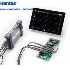 218.59$  Buy now - http://ali333.worldwells.pw/go.php?t=32662325771 - Hantek 6104BC Digital PC USB Oscilloscopes Portable 100MHZ 4 Independent Analog Channels USB2.0 Interface 218.59$