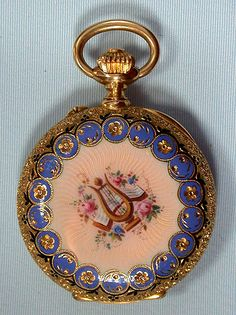 antique enamel, circa 1890/ Bogoff Antique