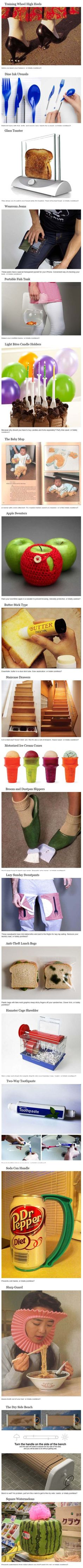 20 Clever and Bizarre Inventions