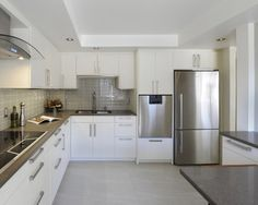 'rational' kitchen Ottawa projects - contemporary - Kitchen - Ottawa - Luxurious Living Studio Inc.