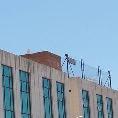 ATM CAMPUS escuela de tecnificación de fútbol en Málaga en la terraza de un edificio. Goles con vistas. ESPECTACULAR!!!!!!!