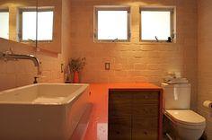 Tijolo aparente charmoso e r stico house for Bathroom design simulator