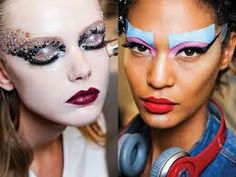 MAKEUP inspiration, Color block that thing