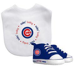 Chicago Cubs Bib & Prewalker Sneaker Gift Set - MLB.com Shop