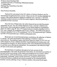 Kraft letter to Grant Schofield Page 1