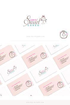 Lori's Sweet Cakes Sweet Logo, Cake Logo, Logo Design, Graphic Design, Sweet Cakes, Beverages, Branding, Inspiration, Food