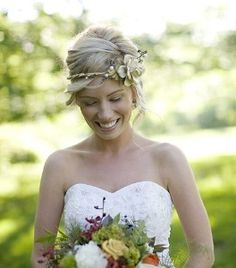 Beautiful wedding crown