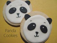 Cup-e-Cake Gang: Panda Cookies