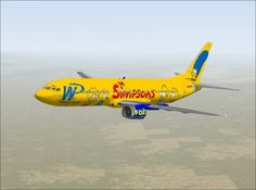 Western Pacific Airlines - The Simpsons