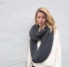 Infinity scarves - one of our new favorite things.