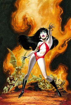 Vampirella - Bruce Timm