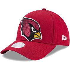 online store 9caee 6d1e9 Arizona Cardinals New Era Women s Glitter Glam 9FORTY Adjustable Hat -  Cardinal, Your Price   25.99