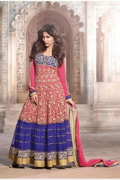 Bollywood Diva Chitrangada Singh Latest Gorgeous Long Anarkali Salwar Kameez