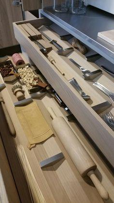 Beautifully organised drawers #bulthaup #b3