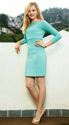 Leggy and beautiful, cute Clöe Grace Moretz. Sal P.