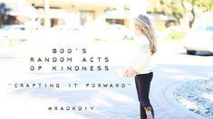 Boo's Random Acts of Kindness: Crafting it Forward via lilblueboo.com #raokdiy @michaelsstores