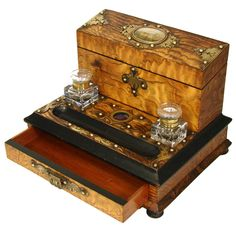 Antique French Napoleon III Grand Tour Writer's Box or Ecritoire, 1855 Expo | 1stdibs.com