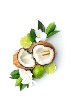 Product photography. Pure Fiji coconut lime roller ball styled and photographed by Shay Cochrane.