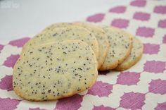 Slice and Bake Lemon Poppy Seed Cookies