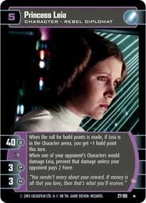 1d0ed4afae2 STAR WARS TCG THE BATTLE OF YAVIN PRINCESS LEIA (D) 27R CARRIE FISHER --  Check this awesome product by going to the link at the image.(It is Amazon  ...