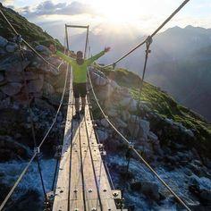 Erst wenn man weiß was Angst ist bekommt man Mut. Nur der ist wirklich mutig der seine Angst zu bezähmen weiß.  Miraculix aus Asterix und die Normannen  Danke für das Foto:  @stanu_pics  #intirol #motivation #austria #mountain #openmyworld #goplayoutside #greatnorthcollective #wildernessculture #letsgosomewhere #ourplanetdaily #wildlifeplanet #stayandwander #campvibes #lonelyplanet #themountainiscalling #mindthemountains #explorewildly #bergheil #finditliveit #adventuremobile…