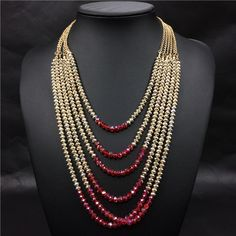 Art And Craft Jewelry Beaded Jewelry Designs, Bead Jewellery, Necklace Designs, Pearl Jewelry, Jewelery, Jewelry Necklaces, Handmade Jewelry, Chunky Bead Necklaces, Silver Jewelry