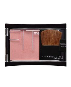 Blush Shade That Looks Good on Every Skin Tone - Maybelline Fit Me Blush in Medium Coral