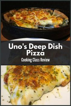 Cooking Classes are a great way to spend time with your family and friends. Great family event for all ages. Copycat Recipes, Pizza Recipes, Dinner Recipes, Cooking Recipes, Fish Recipes, Deep Dish, Chicago Style Pizza, Main Course Dishes, Food Categories