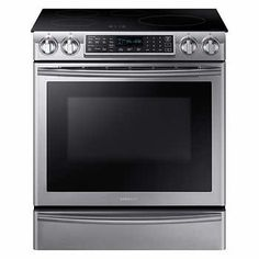 Samsung 30 in. Slide in Induction Range with Virtual Flame Technology