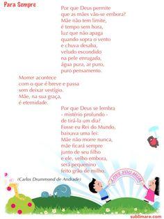 Para Sempre, Carlos Drummond de Andrade