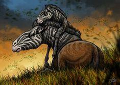 Hippidion principale by paleoarqueiro on DeviantArt Prehistoric Wildlife, Prehistoric Creatures, Dinosaur Fossils, Dinosaur Art, Stone Age Animals, Animals Information, Alien Concept Art, Extinct Animals, Fauna