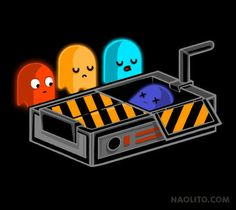 Ghost Busted – T-shirt available at Naolito.com