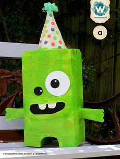 Monster Pinata Made to Order by wunderlandhome on Etsy, $55.00