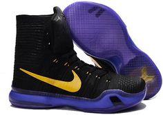 buy online 6b812 a8bc1 Nike Kobe 10 Elite Lakers Kobe 10, Men s Basketball, Lava, Easter, Hot