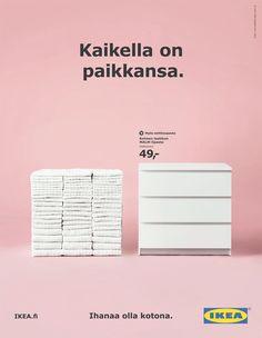 Kaikella on paikkansa / Ikea