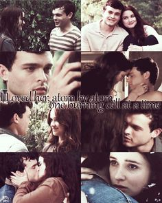 Ethan and Lena from Beautiful Creatures